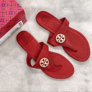944dae1b8 NWT Red Tory Burch Sandals